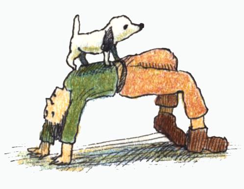 ブリッジ犬157