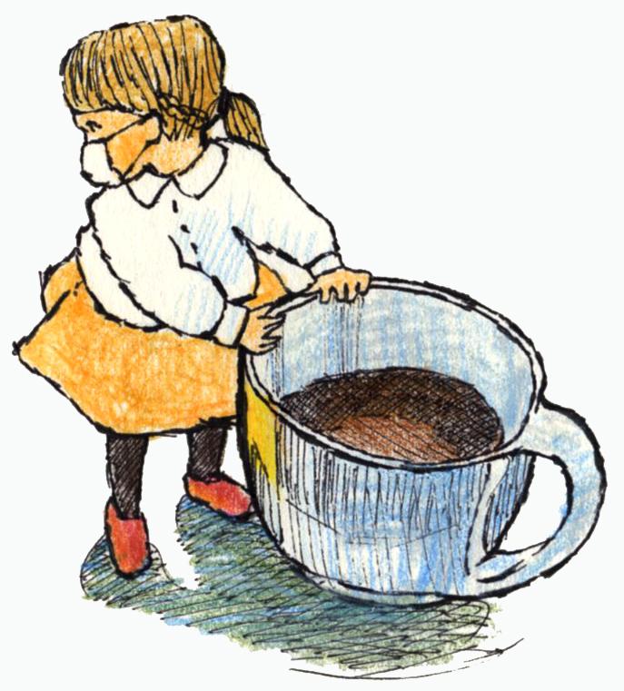 冷めたコーヒー097
